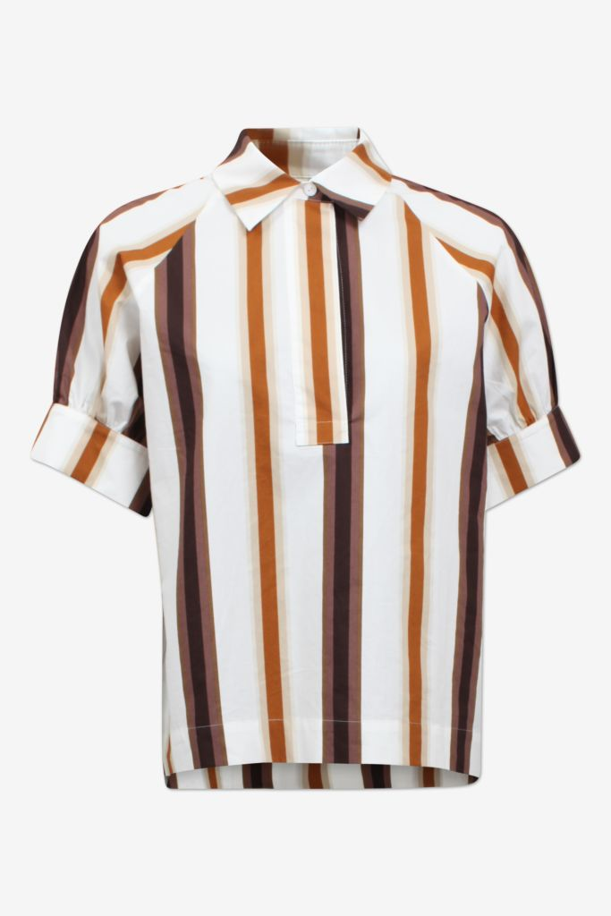 Moana Brown Nautical Shirt Coco Skien